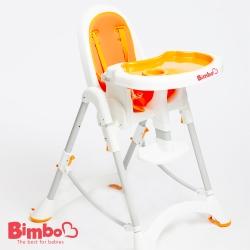 安全兒童餐椅 橘色 台灣製造【BIMBO】