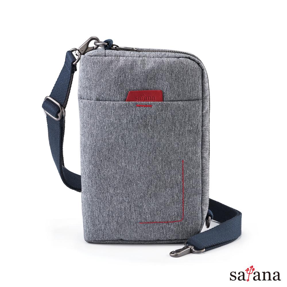 satana - Fresh 輕職人疾速斜肩包 - 麻花灰
