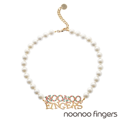 Noonoo Fingers NNF Pearl Necklace NNF 珍珠 項鍊