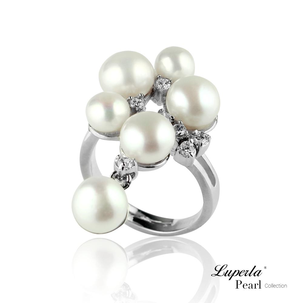 大東山珠寶 晶鑽珍珠戒指 燦爛時光 product image 1
