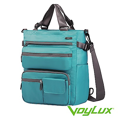 VoyLux 伯勒仕-VEGO系列-四用托特包-3580118孔雀藍