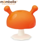 英國 Mombella Q比小蘑菇固齒器 橘色