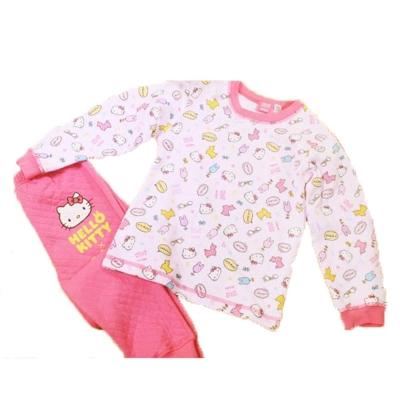 魔法Baby 台灣製Hello Kittyy女童保暖套裝k38910