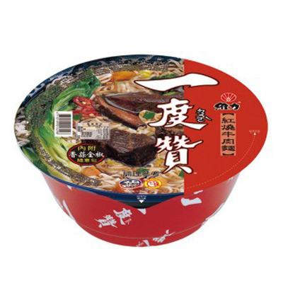 維力 一度贊紅燒牛肉碗麵(200g)