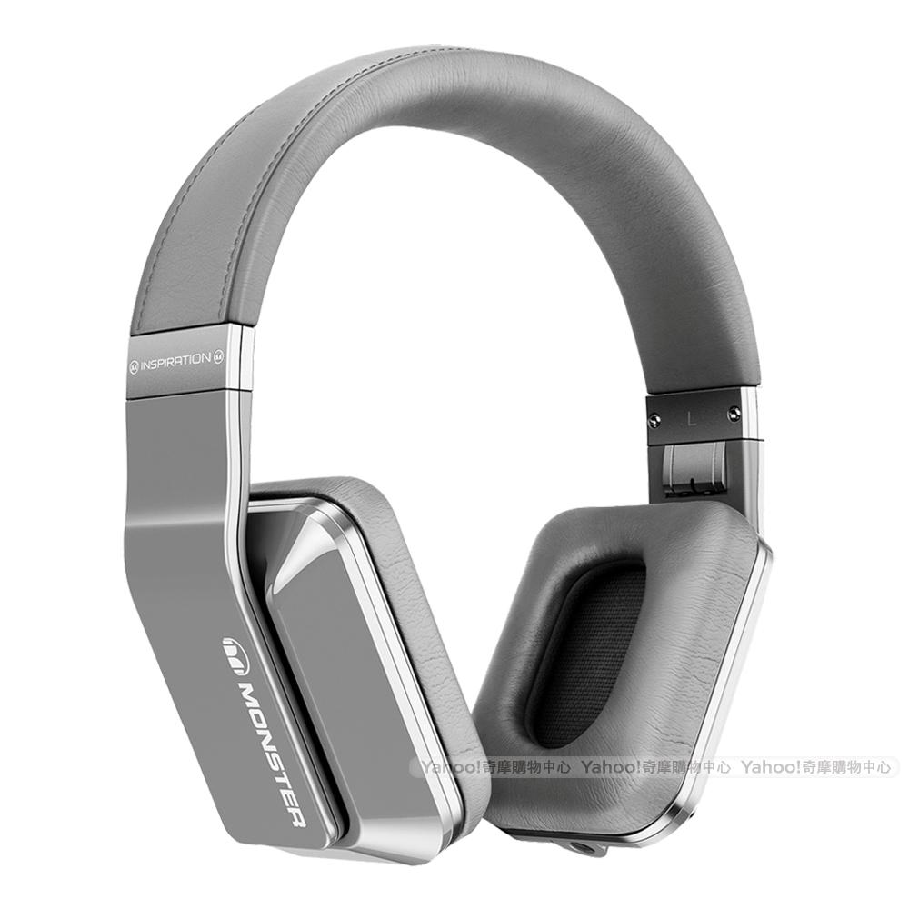 魔聲 Monster Inspiration 銀色 主動降噪耳罩耳機