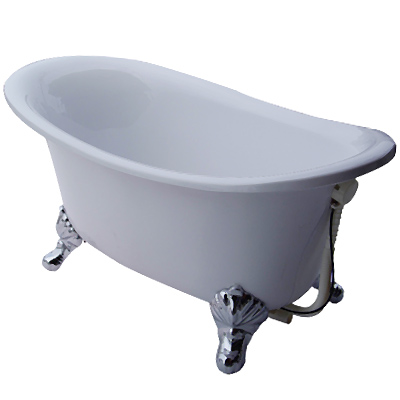 【I-Bath Tub精品浴缸】安妮公主-品味銀( 100 cm)