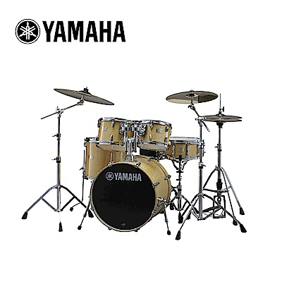 YAMAHA Stage Custom 爵士鼓組 自然原木色款