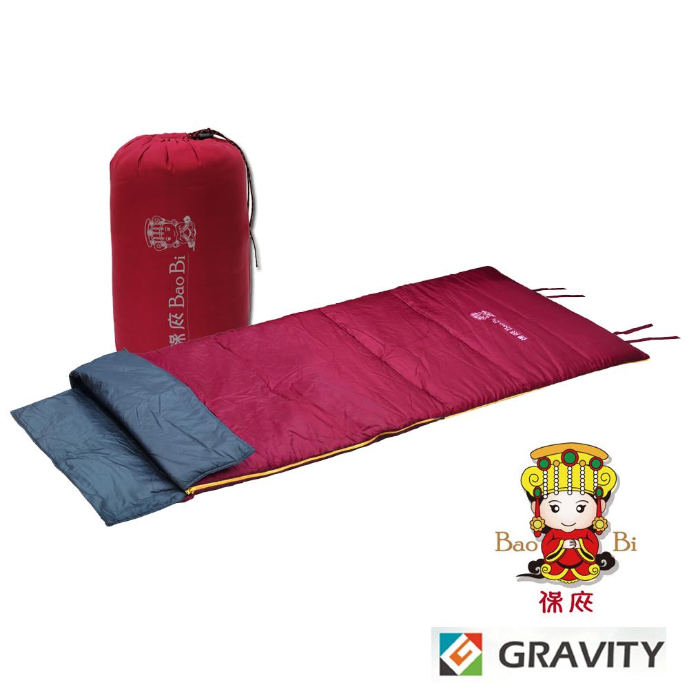 【Gravity】媽祖限量 輕量透氣中空纖維信封型化纖睡袋_開運紅