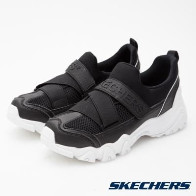 SKECHERS (女) 運動系列 D LITES 2 - 88888016BLK