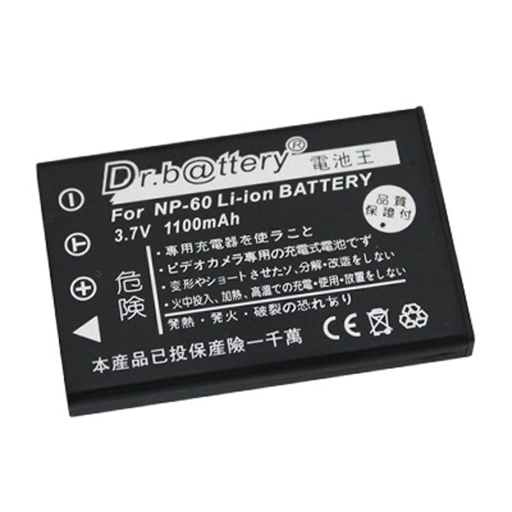 電池王 For Fujifilm NP-60 高容量鋰電池