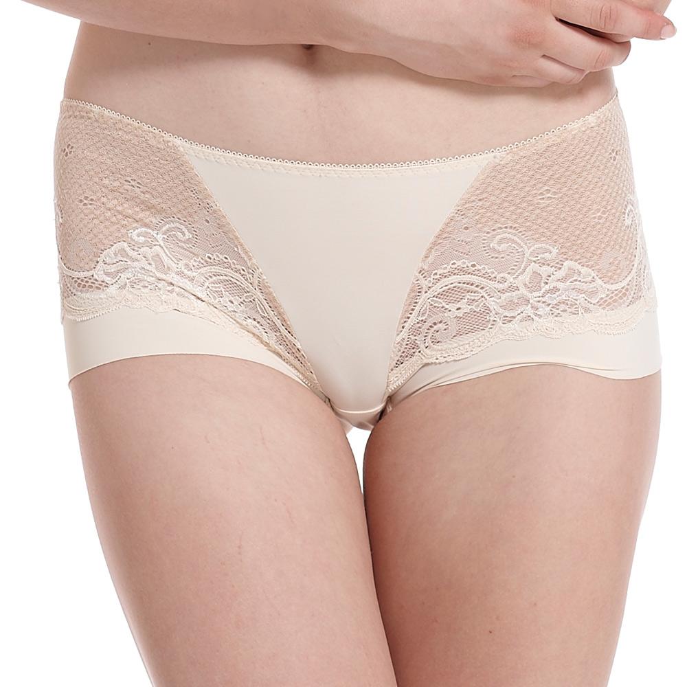 LADY 涼感纖體美型系列 機能調整型 中腰平口褲(悠活膚)