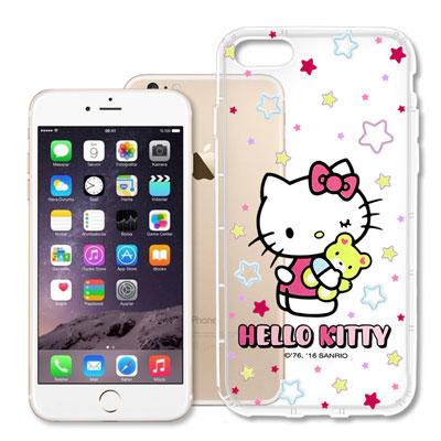 Hello Kitty iPhone 8/iPhone 7 彩繪空壓手機殼(星星...