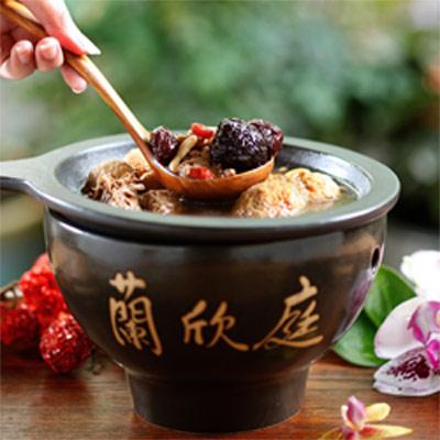 【蘭欣庭創藝蔬食料理】頂級藏紅花活絡筋骨鍋