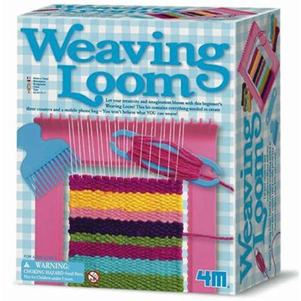 《4M美勞創作》Weaving Loom 創意編織機