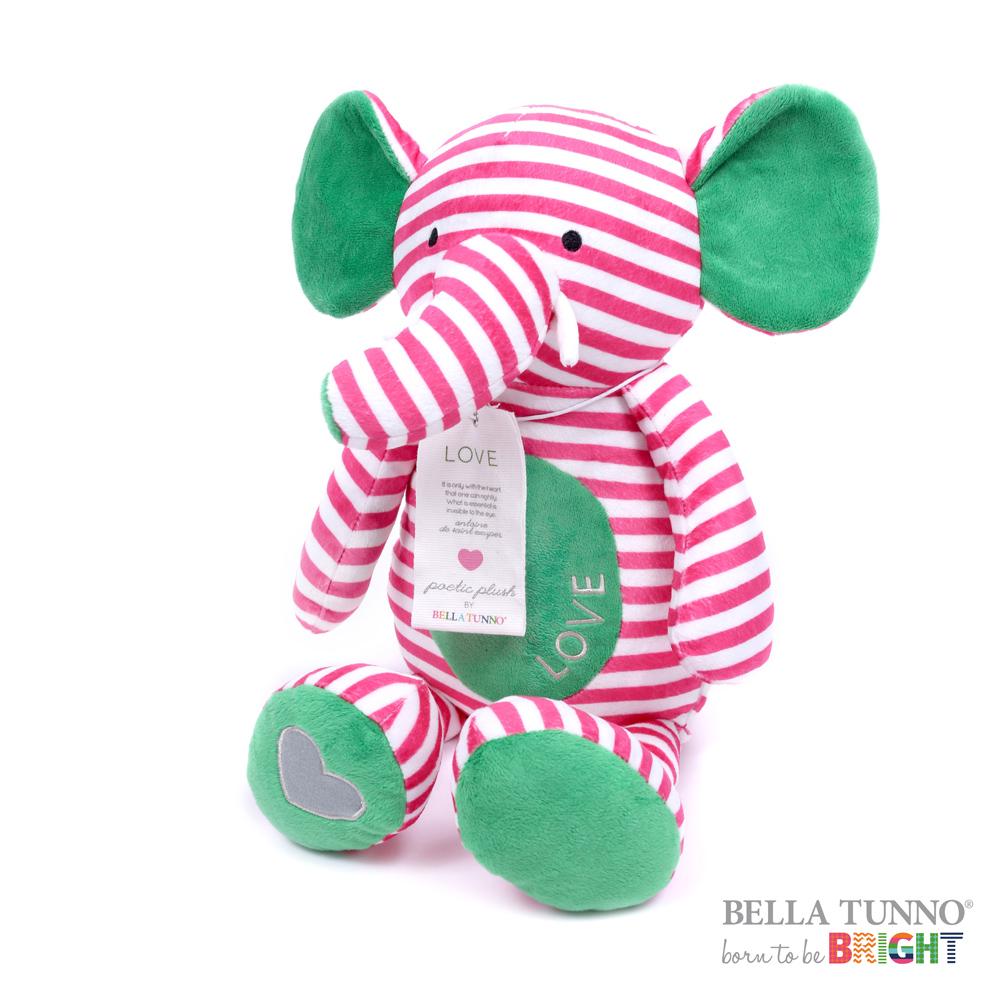 美國 Bella Tunno 絨毛祝福娃娃 (親情大象)