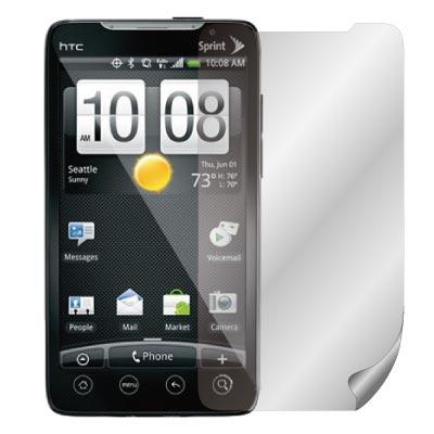 ZIYA HTC EVO 4G 抗反射(霧面/防指紋)螢幕保護貼- 兩入