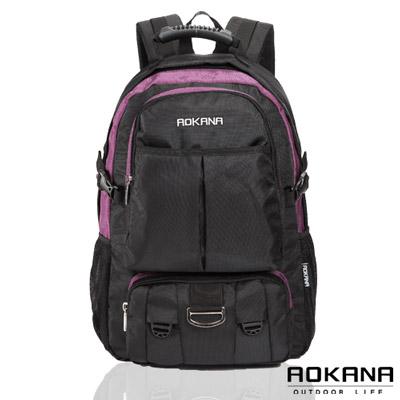 AOKANA奧卡納 - 台灣釦具 防潑水電腦後背包68-064 - 紫