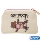 OUTDOOR-有BEAR而來系列-滑板熊零錢包-粉 ODS162D201PK