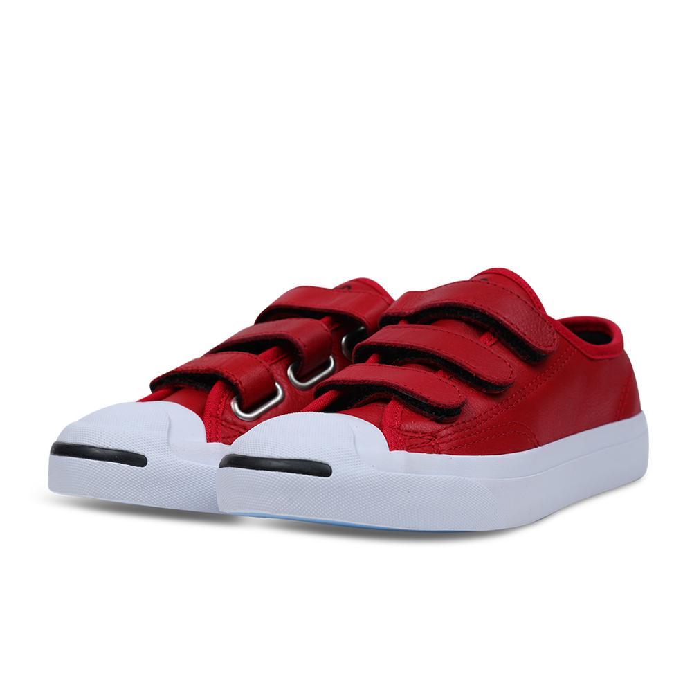 CONVERSE-Jack Purcell 3V中童鞋-紅