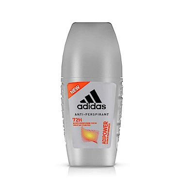 adidas愛迪達 極限動力制汗爽身滾珠(男用)40ml