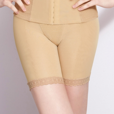 曼黛瑪璉-15AW 魔幻美型  重機能中腰中管束褲(雅致膚)