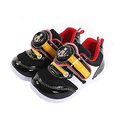 迪士尼米奇閃燈運動鞋 黑 sk0298 魔法Baby