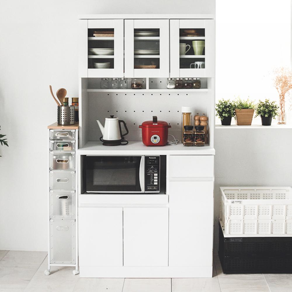 Home Feeling 廚房櫃/電器架/餐廚櫃(3色)-90x41x182cm
