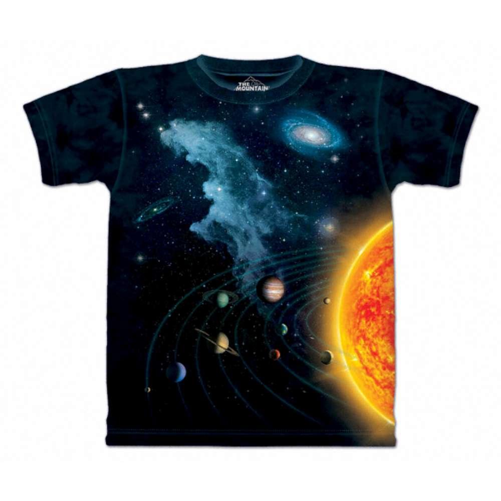 摩達客-美國The Mountain 太陽系 兒童版純棉環保短袖T恤