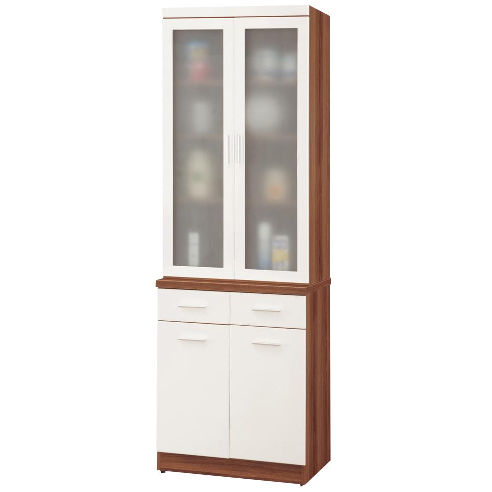 時尚屋 卡洛斯二抽6.5尺高餐櫃
