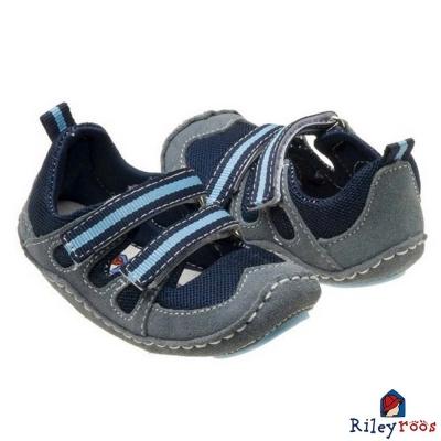 Rileyroos 美國手工童鞋學步鞋-Dakota Ocean