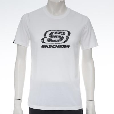 SKECHERS-中性短袖衣-SS3UT16M66