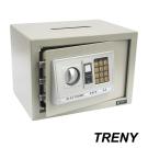 TRENY三鋼牙 電子式投入型保險箱 中 4434