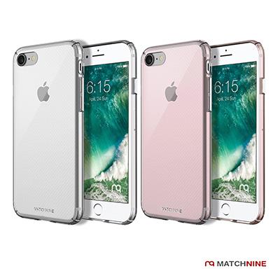 Matchnine iPhone 7 全包覆式透明鍍膜手機保護殼