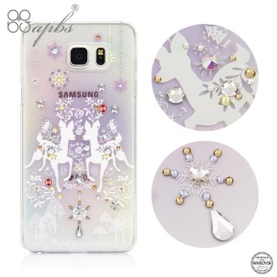 apbs Samsung Galaxy Note5 施華洛世奇彩鑽手機殼-斑比