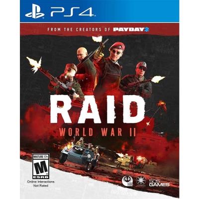 急襲:二戰 RAID: World War II -PS4 英文美版