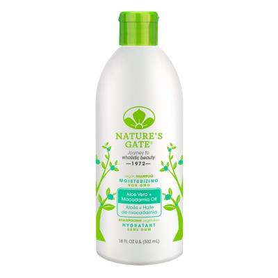 Nature s Gate 經典無基改雙倍蘆薈夏威夷果油植萃保濕洗髮精532ml