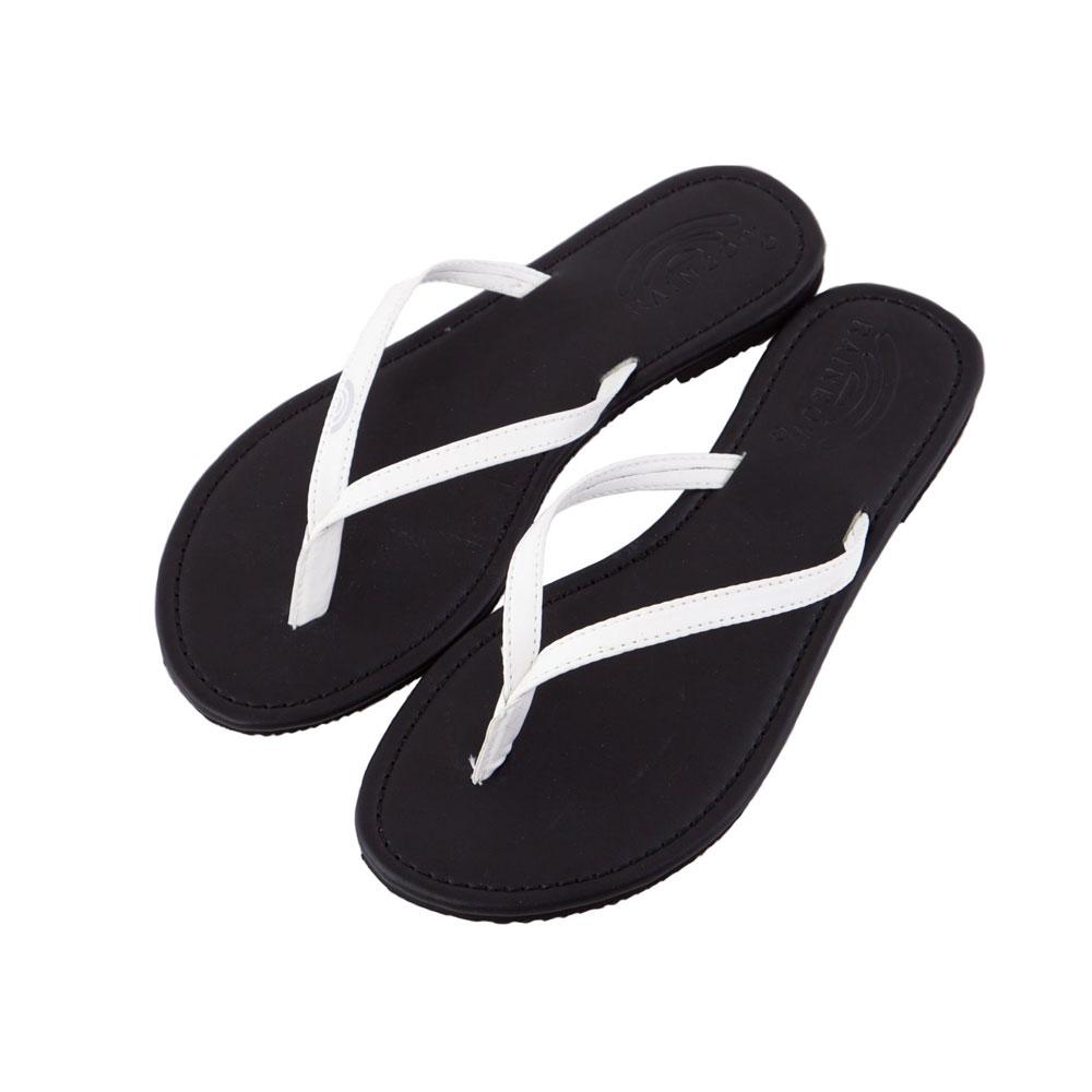 Rainbow Sandals美國夾腳休閒拖鞋-白