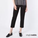 獨身貴族 雅緻簡約素色直筒西裝褲(3色)