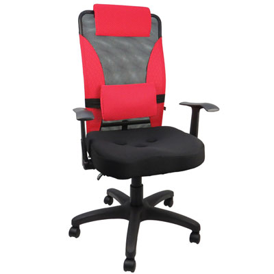 LOGIS- 艾瑞克人體工學3孔座墊辦公椅/電腦椅(四色)