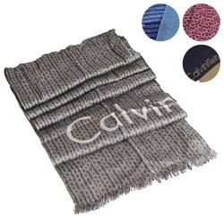 Calvin Klein CK 暖冬針織圍巾獨家$1890