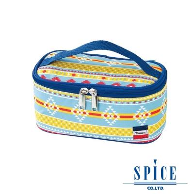 【SPICE】 日系 輕巧時尚 多功能 原住民圖騰 保溫 便當袋