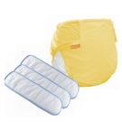COTEX可透舒 環保布尿布基礎款  日間體驗包  1件黃色外兜 3片日用墊