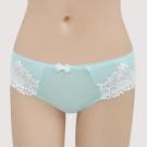 曼黛瑪璉-集中穩定  低腰寬邊三角萊克內褲(海水藍)