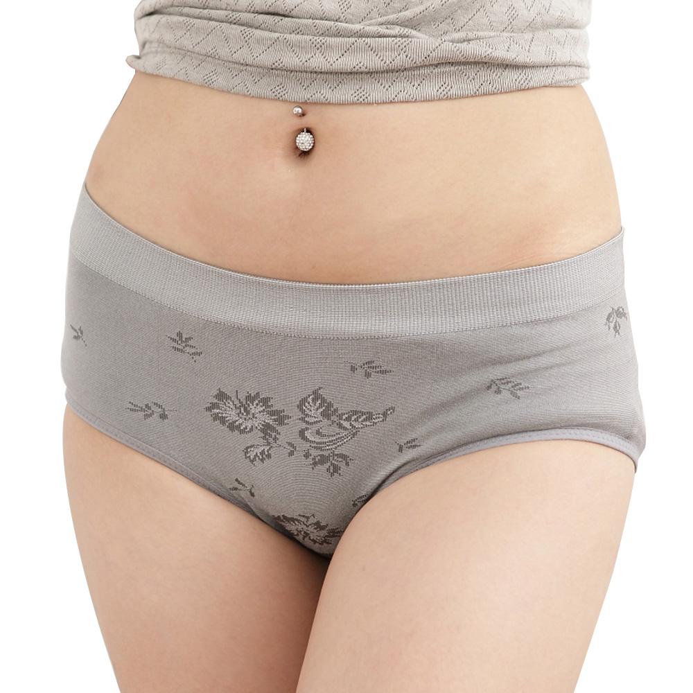 女內褲 竹炭無縫三角低腰內褲(4件組) 源之氣