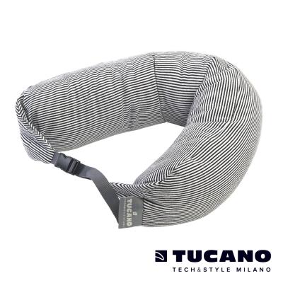 TUCANO Pisolo 超舒適旅行枕(附眼罩、耳塞)-黑