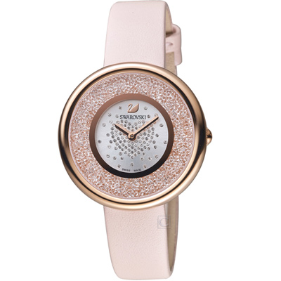 施華洛世奇SWAROVSKI浪漫心戀時尚腕錶(5376086)