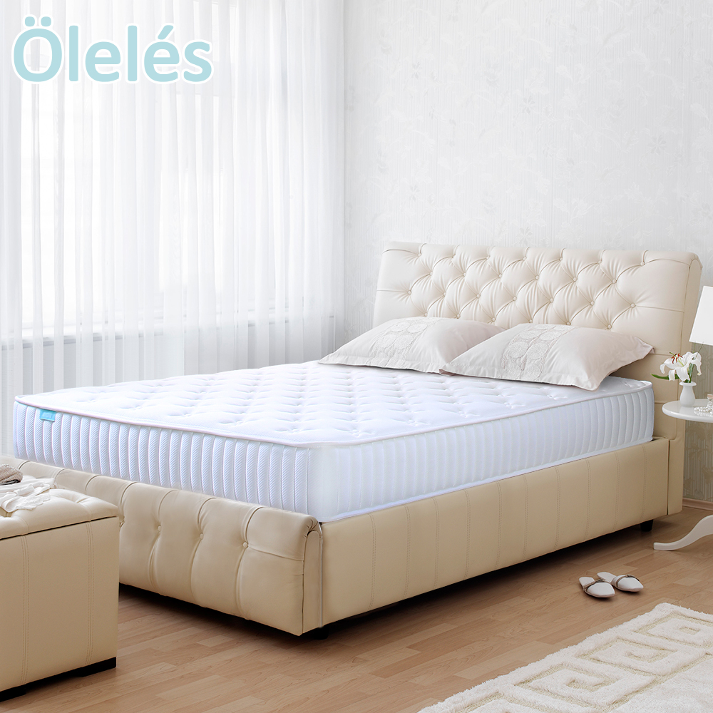 Oleles 歐萊絲 軟式獨立筒 彈簧床墊-雙人加大