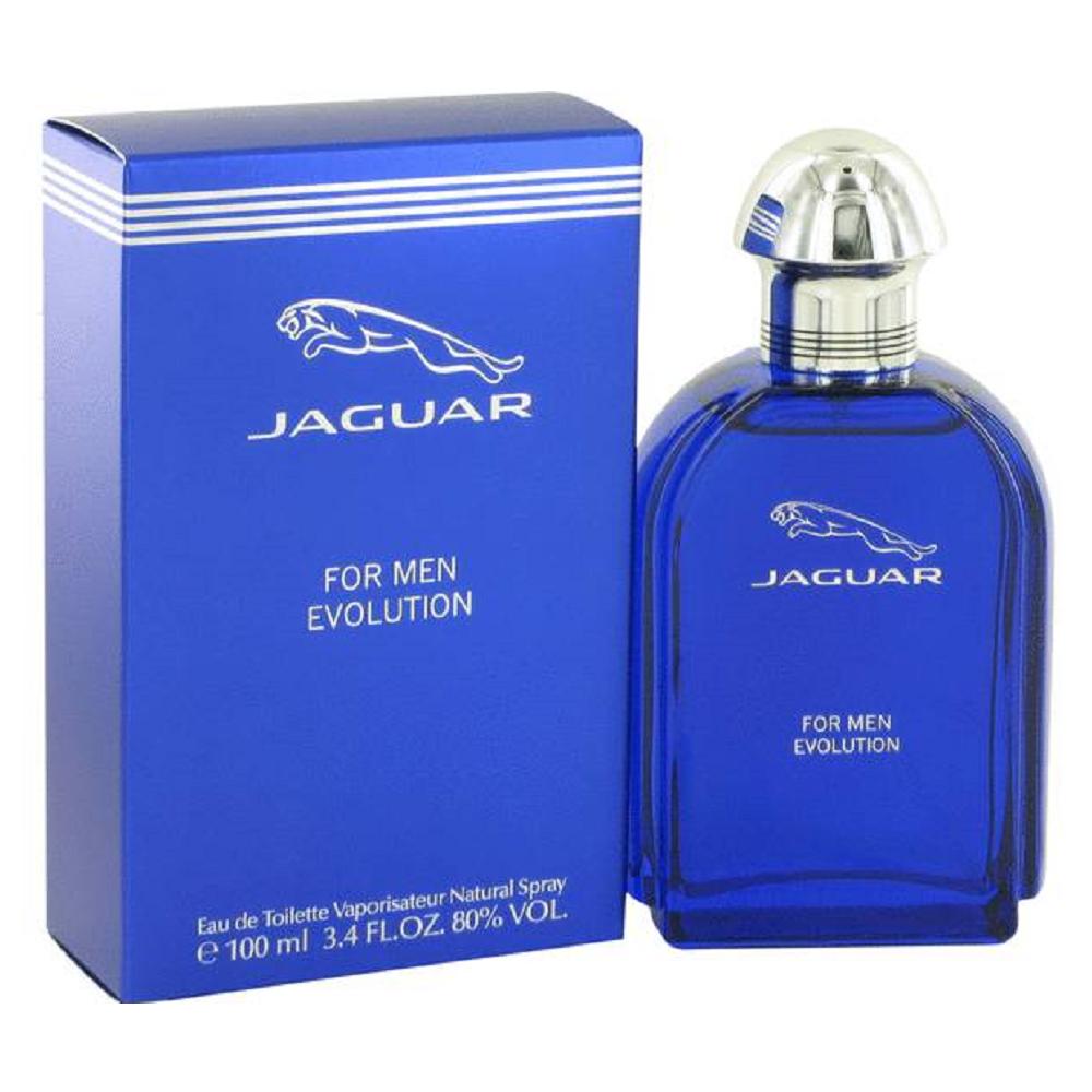 Jaguar Evolution 積架藍色經典男性淡香水 100ml