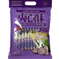 盛香珍 夾心酥(香芋口味)(400g)