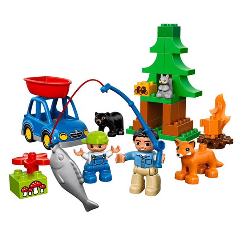 LEGO樂高得寶系列10583森林釣魚之旅